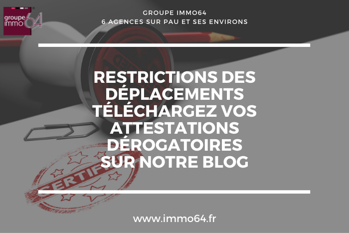 télécharger attestation deplacement justificatif pau octobre 2020